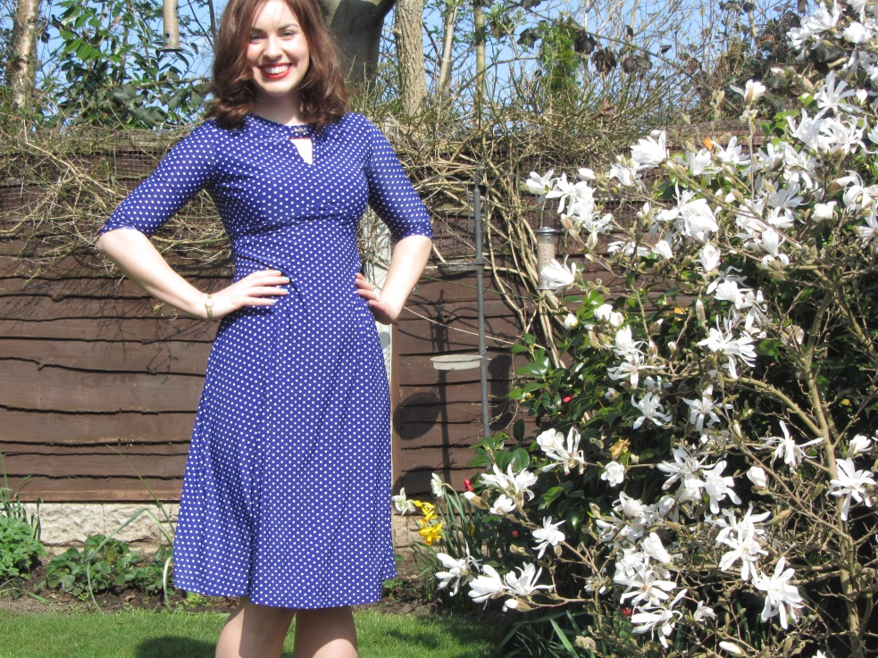 tea dress from Lucy Loves Vintage