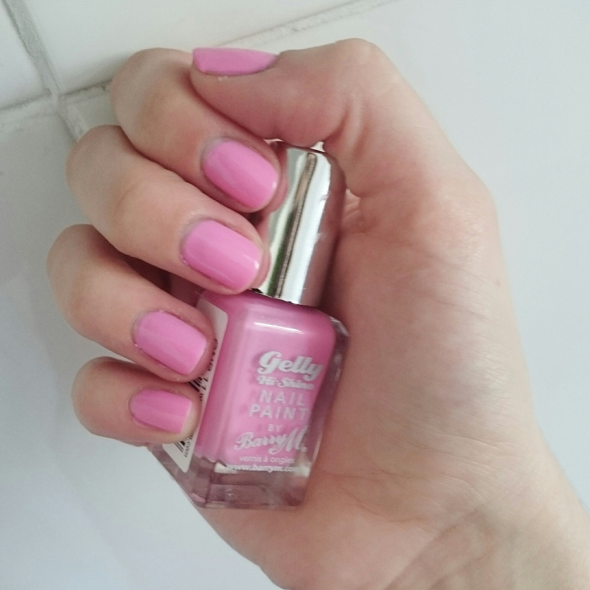 dragonfruit, nail polish, barryM,swatch