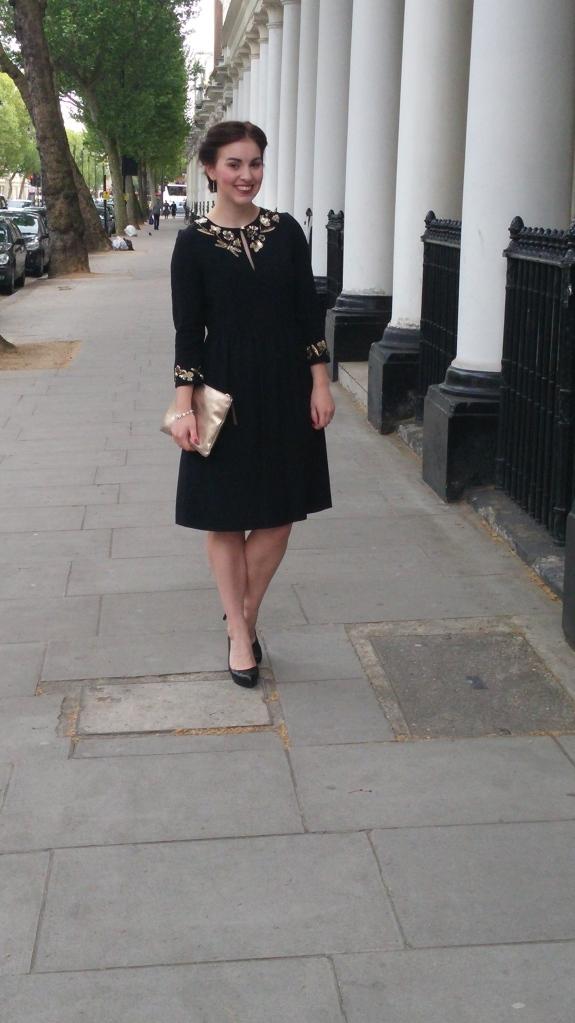 Outside 54 Boutique Hotel,Queensgate, in Kensington London