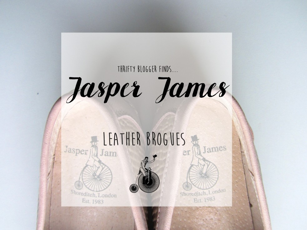 jasper James brogues shoes