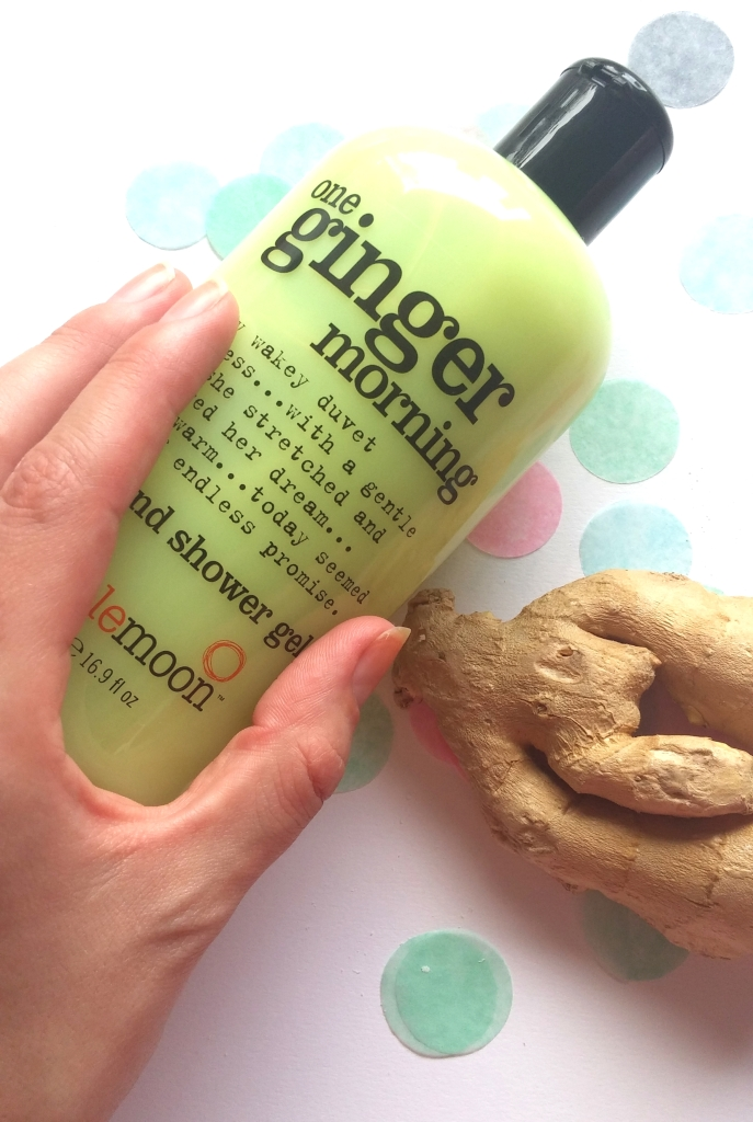Ginger, shower gel, treaclemoon, bath, body, skincare, ethical, vegetarian