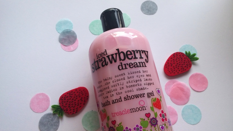 shower gel, treaclemoon, bath, body, skincare, ethical, vegetarian, strawberry