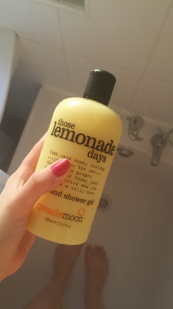lemonade, showergel, shower, bath, skin care, body, wash, shower gel, treaclemoon, bath, body, skincare, ethical, vegetarian