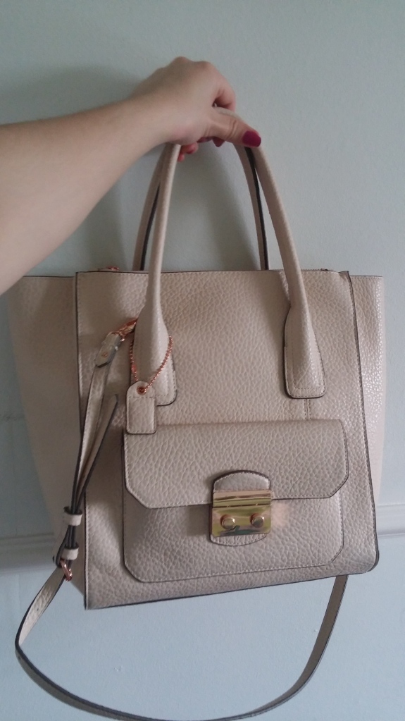 clarks, handbag, leather