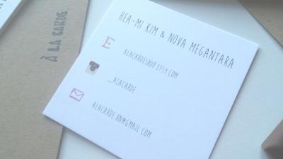 A La Carde Contact card