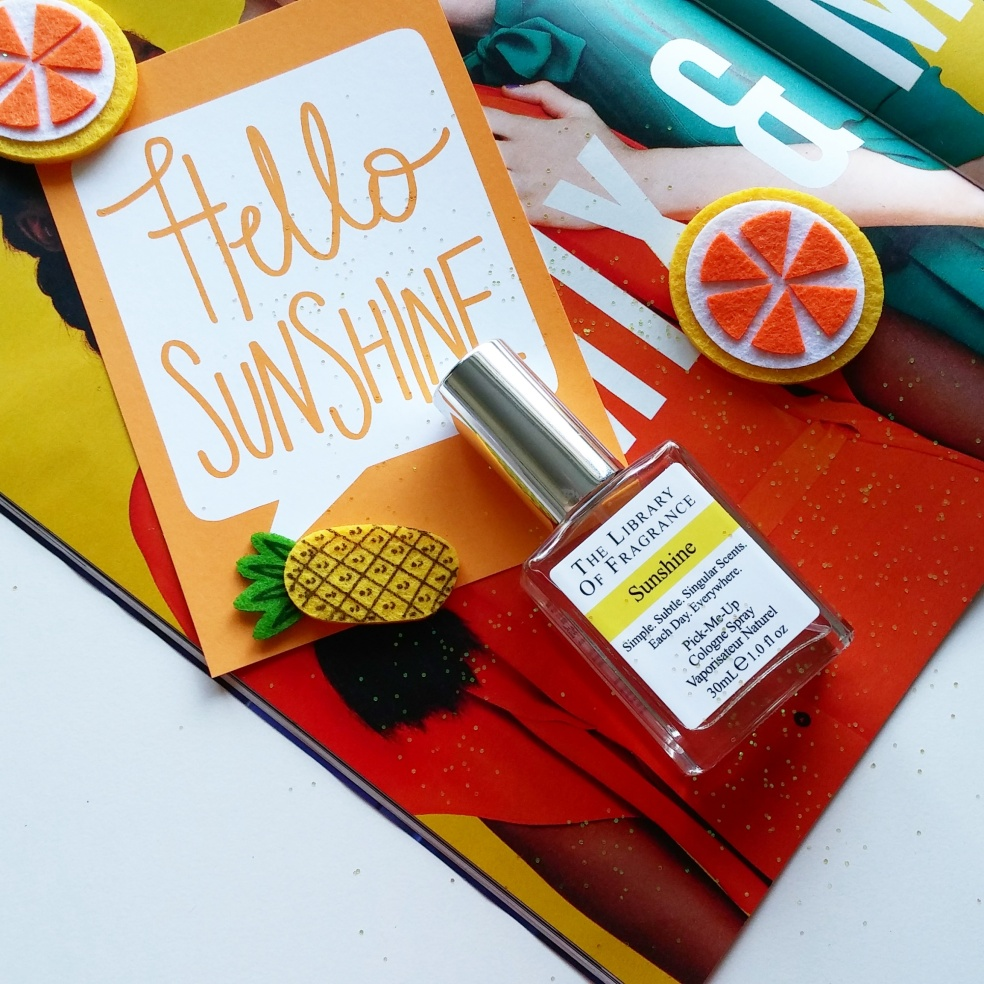 Sunshine cologne from Library of Fragrance UK