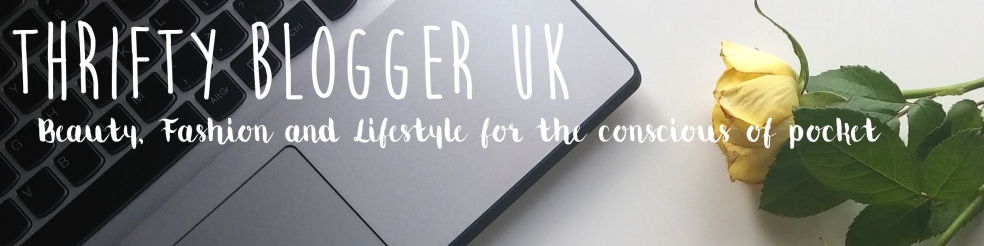 Thrifty Blogger UK