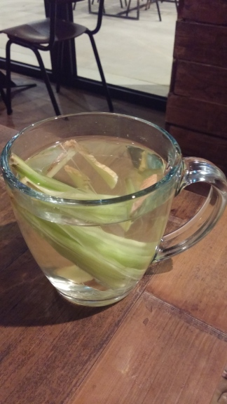 Ginger & Lemongrass tea
