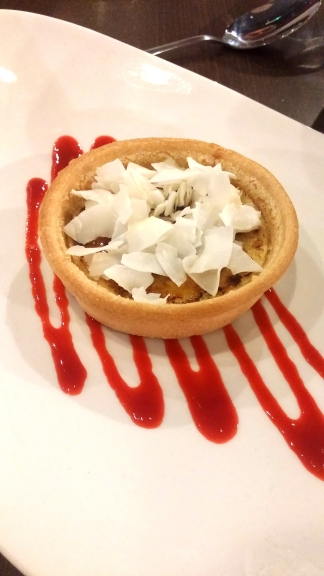 a manc twist on a Catalan favourite - mancatalan tart (I made that up, but it was delicious!)