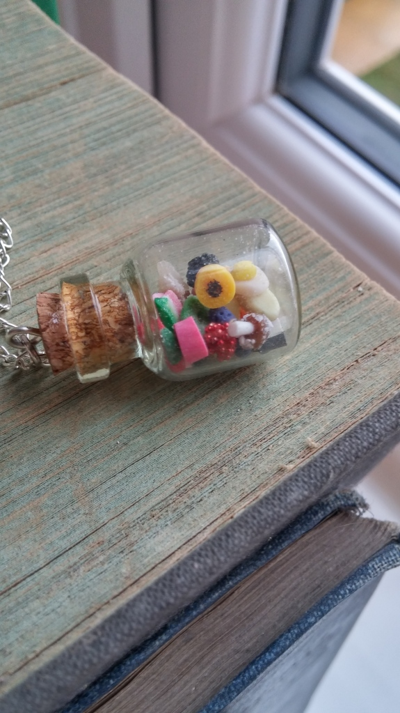 Tiny Treat Boutique miniature pick and mix necklace