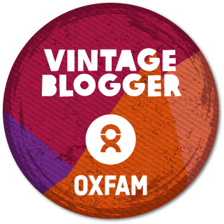 oxfam vintage blogger badge