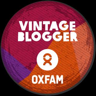 oxfam vintage blogger badge